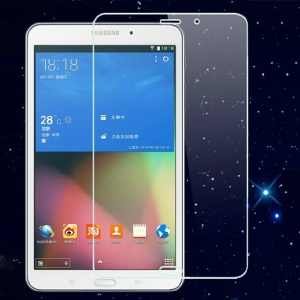 0.3mm Anti-explosion Tempered Glass Screen Protective Film for Samsung Galaxy Tab 4 8.0 T330 T331 T335 (Arc Edge)