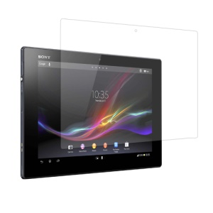 Clear Screen Protector Guard Film para Sony Xperia Tablet Z LTE SO-03E SGP321 10.1-polegada