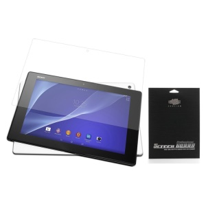 0.3mm Anti-explosion Tempered Glass Screen Guard Film for Sony Xperia Z2 Tablet Wi-Fi SGP511 / LTE SGP521 (Arc Edge)