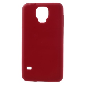 Red for Samsung Galaxy S5 G900F Soft Silicone Case