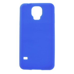 Dark Blue Soft Silicone Cover for Samsung Galaxy S5 G900F