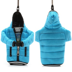 Down Coat Cotton Bag Pouch for iPhone 7 6s 6 / Samsung i9500 / Sony / HTC / Nokia etc - Black / Baby Blue
