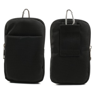 Cloth Hiking Bag Pouch w/ Metal Buckle for Samsung N9005 N7100 i9500 / Nokia 1020 / Sony Xperia Z1, Size: 16 x 10cm