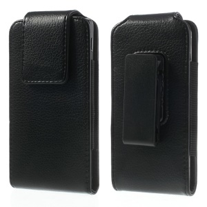 Magnetic Flip Leather Holster Case w/ Belt Clip for LG Nexus 5 D820, Size: 14 x 7.5 x 1.2cm