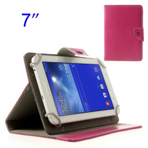Rose Crazy Horse Stand Leather Tablet Case for Samsung Tab T110 P3210 P6200/ Lenovo S5000 Etc, Size: 12.5 x 19.5cm