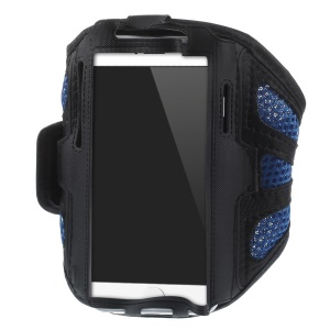 absorbent Gym Jogging Mesh Armband Case for iPhone 6 4.7 inch / Samsung Galaxy S5 G900 / S4 I9500 Etc.