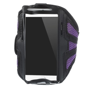 absorbent Gym Jogging Mesh Armband Cover for iPhone 6 4.7 inch / Samsung Galaxy S5 G900 / S4 I9500 Etc.