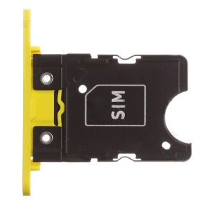 OEM for Nokia Lumia 1020 SIM Card Tray Spare Part - Yellow