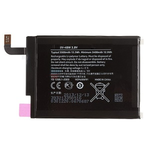 OEM BV-4BW Battery Replacement 3.8V 3500mAh for Nokia Lumia 1520
