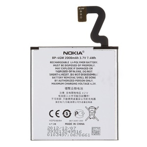 OEM Internal BP-4GW Battery Replacement for Nokia Lumia 920 2000mAh