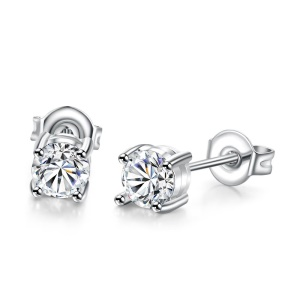 AKE006 Chic Platinum Plated Hot Sale Earrings for Women