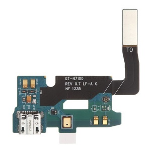 Dock Connector Charging Port Flex Cable for Samsung Galaxy Note II N7100