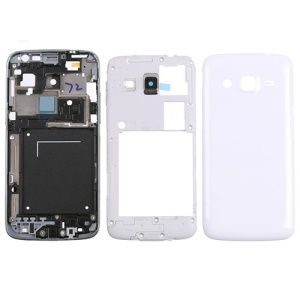 White OEM Full Housing Cover Faceplate Replacement for Samsung Galaxy Express 2 SM-G3815
