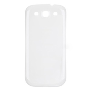 White OEM Battery Door Cover Cover Cover pour AT  T pour Samsung Galaxy S 3 SGH-I747