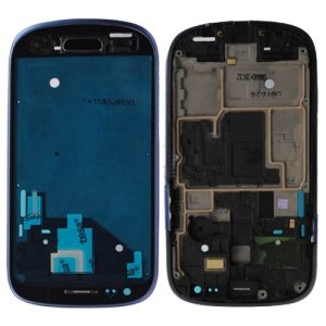 For Samsung i8190 Galaxy S iii Mini Middle Plate Spare Parts - Blue
