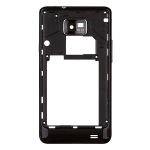Black OEM Middle Plate Housing Cover for Samsung I9100 Galaxy S2