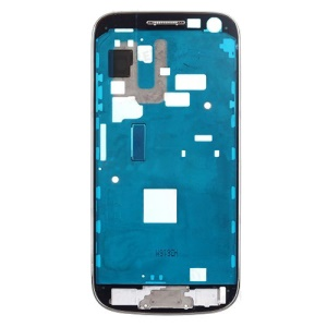 OEM Front Housing Frame Bezel Plate for Samsung Galaxy S4 mini GT-I9195 LTE - Silver