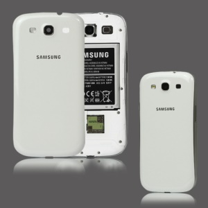 For Samsung i9300 Galaxy S iii Back Cover Housing Replacement OEM - White