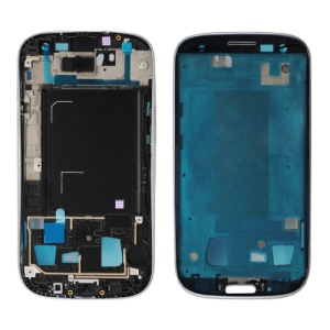 Front Housing Frame Bezel Plate for Samsung Galaxy S 3 iii OEM - Silver