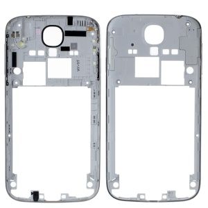 Middle Frame Bezel Replacement for Samsung Galaxy S4 S IV i9500 OEM - White