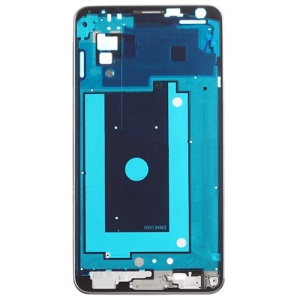 OEM for Samsung Galaxy Note 3 N9005 Front Housing Frame Bezel Plate - Silver