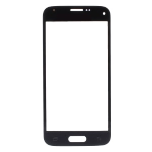 OEM Front Glass Lens Repair Part for Samsung Galaxy S5 Mini G800 - Black