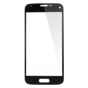 Front Glass Lens Replacement for Samsung Galaxy S5 Mini G800 - Black