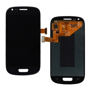 For Samsung i8190 Galaxy S iii Mini LCD Assembly with Touch Screen Digitizer (OEM) - Blue