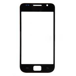 Black For Samsung I9000 Galaxy S Front Glass Lens Replacement
