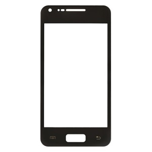 Black OEM Front Glass Lens for Samsung I9070 Galaxy S Advance