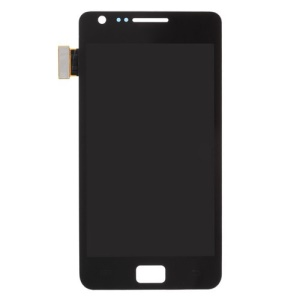 For Samsung I9100 Galaxy S II / 2 Touch Screen Digitizer LCD Display Assembly - Black