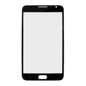 Front Screen Glass Lens for Samsung Galaxy Note i9220 N7000 - Black