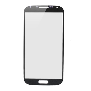 Front Glass Screen Lens Replacement for Samsung Galaxy S4 i9500 - Black