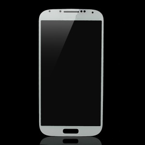 Front Glass Screen Lens Replacement for Samsung Galaxy S4 i9500 - White