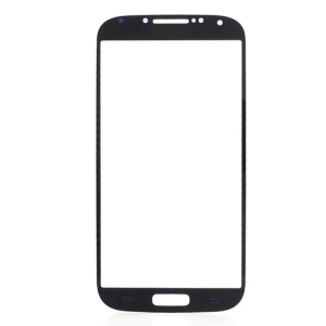 Dark Blue Front Glass Screen Lens Replacement for Samsung Galaxy S4 i9500
