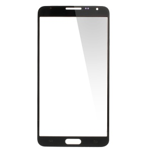 Front Glass Screen Lens Spare Part for Samsung Galaxy Note 3 Neo N750 - Black