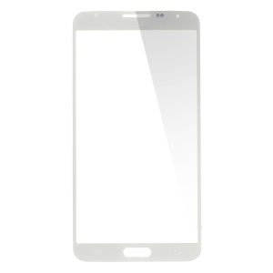 Front Glass Screen Lens Spare Part for Samsung Galaxy Note 3 Neo N750 - White