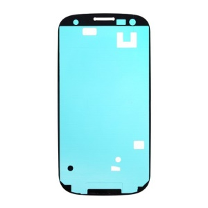 Front Housing Frame Bezel Plate Adhesive Sticker OEM Parts for Samsung Galaxy S3 / III I9300