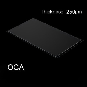 For Samsung Galaxy S4 I9500 LCD Digitizer OCA Optical Clear Adhesive Double-side Sticker, Thickness: 0.250mm
