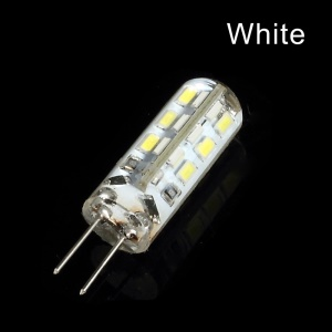 G4-X24 1.5W 24pcs 3014LED Crystal Bulb Lamp 360 Degree Beam Angle - White