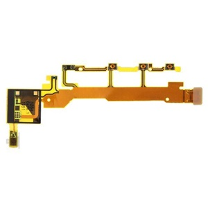 flanc Buttons(Power ON/OFF  volume  Mic) Flex Cable pour Sony Xperia Z C6603 L36h