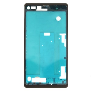 OEM Front Housing Frame Bezel Plate for Sony Xperia L S36h C2105 - Black