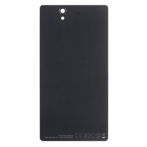 Black OEM Battery Door Back Cover for Sony Xperia Z C6603 L36h