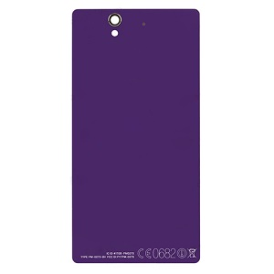 Purple OEM Battery Housing Back Cover for Sony Xperia Z C6603 L36h