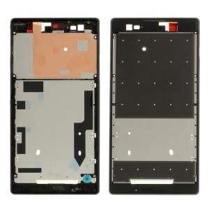 Front Housing LCD Frame Plate Repair Part for Sony Xperia T2 Ultra D5306 / Ultra dual D5322 (OEM)