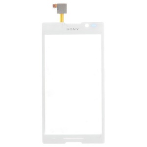 OEM Digitizer Touch Screen Replacement for Sony Xperia C C2305 S39h - White