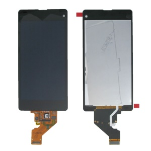 Black LCD Touch Screen Digitizer Assembly for Sony Xperia Z1 Compact D5503 (OEM)
