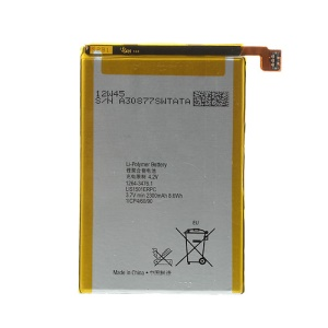 3.7V 2300mAh LIS1501ERPC Li-ion Battery Replacement for Sony Xperia ZL C6503 L35h (OEM, Not Brand New)