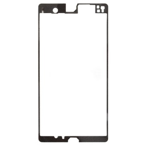 Front Housing Frame Bezel Plate Adhesive Sticker for Sony Xperia Z C6603 L36h