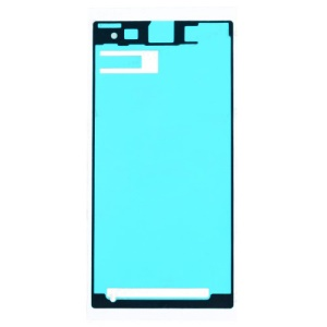 For Sony Xperia Z1 L39h Front Housing Frame Bezel Plate Adhesive Sticker (OEM)